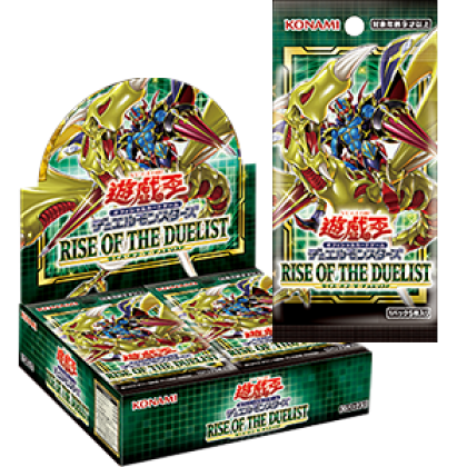 Yu-Gi-Oh Japanese Rise of the Duelist 1 Box 30 Pack Made In Japan