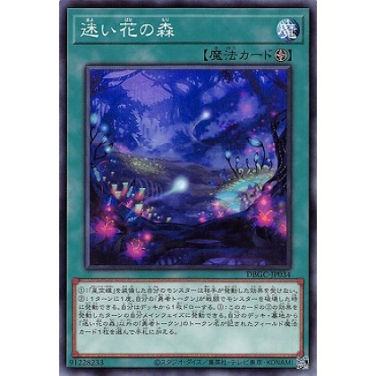 Yu-Gi-Oh Japanese DBGC-JP034 The Woods of Lost Flowers