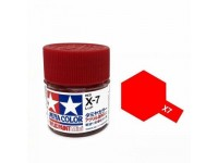 Tamiya Color Acrylic Paint Mini (Gloss)X-7 Red
