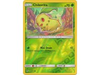 Pokemon SM8 Chikorita - 6/214 - Common Reverse Holo