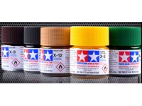 Tamiya Acrylic Paint Mini (Gloss) X1-X24 10ML