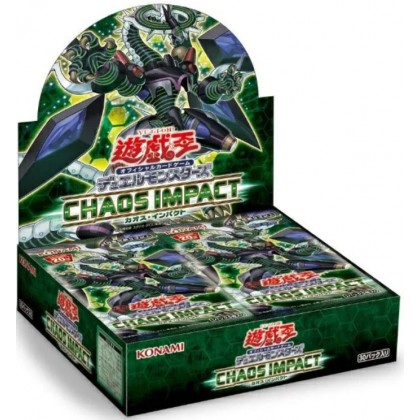 Preorder Yugioh Chaos Impact 1010 カオス・インパクト JP Stock