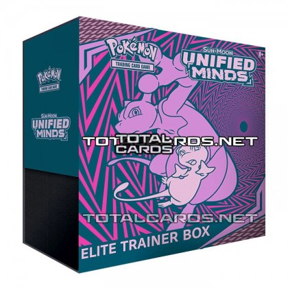 Pokemon TCG SM11 Unified Minds Elite Trainer Box