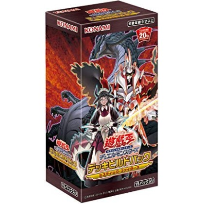 Yu-Gi-Oh Deck Build Pack: Mystic Fighters Booster Box Made In Japan