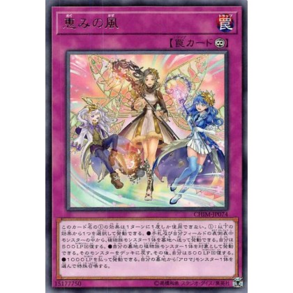 Yu-Gi-Oh CHIM-JP074 Blessed Winds